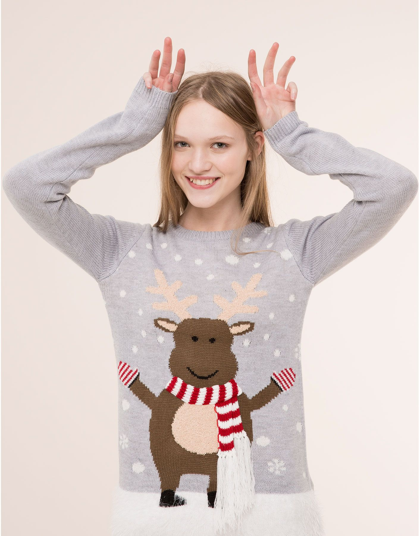Jersey Navidad Reno Novedades Novedades Pull Bear España Christmas Sweaters Xmas Sweater Christmas Fashion