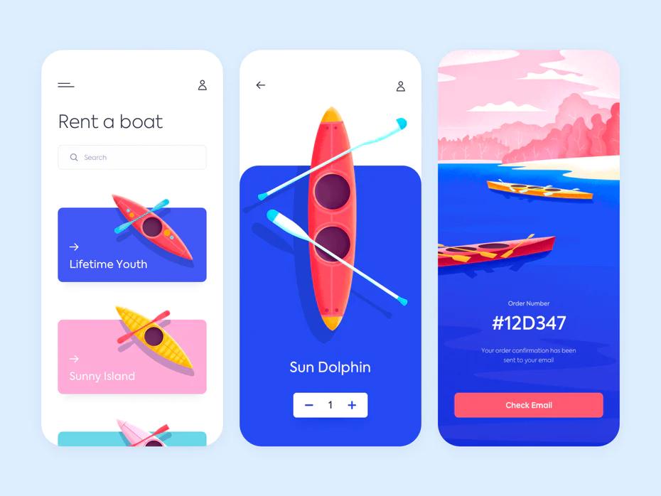 The 9 Biggest App Design Trends 2020 In 2020 App Design Trends App Design Inspiration Mobile App Design Inspiration