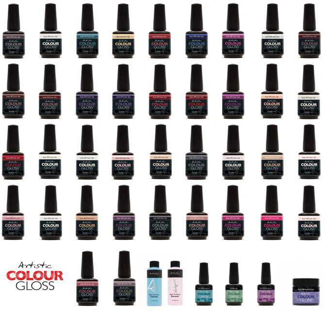 Artistic Colour Gloss Gel Polish  75f174ed208
