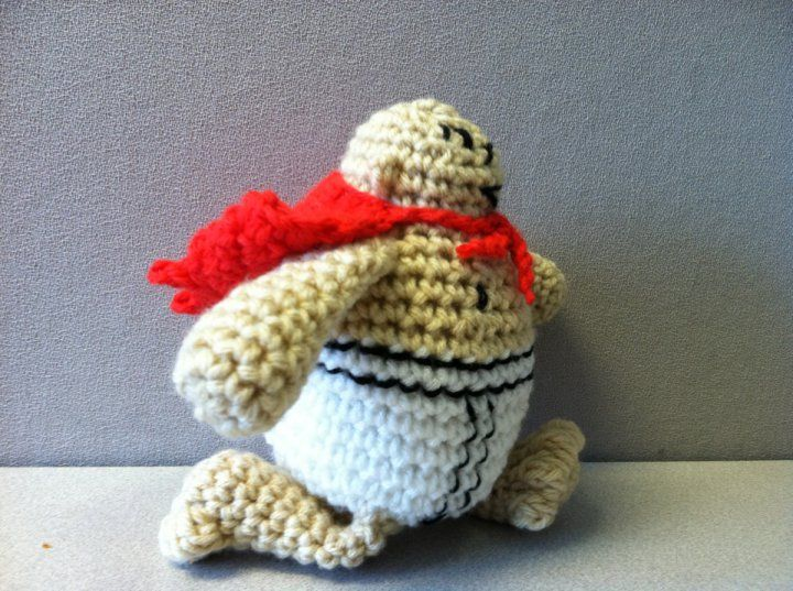 Amigurumi Doll Pattern Book : Captain underpants doll from scholastic book fame this character