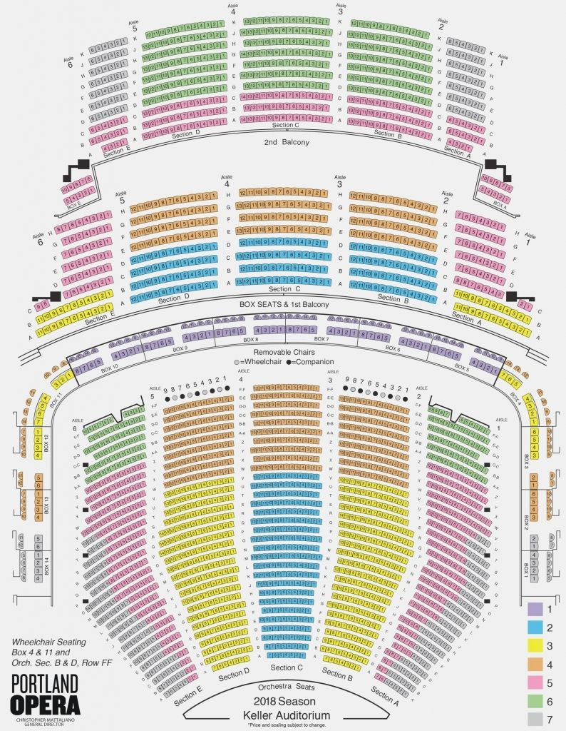 Eisenhower Theater Seating Chart