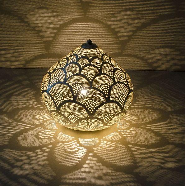Orientalische Tischlampe Zenza Von Dk Lieblingsstucke Auf