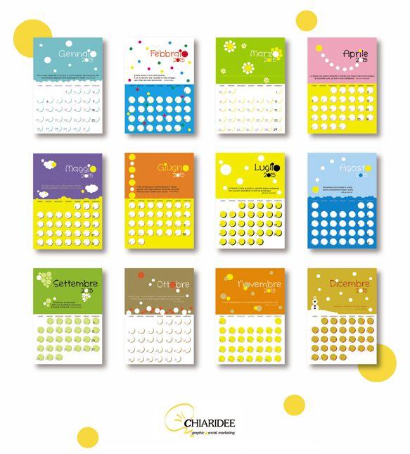 Calendario Chiaridee 2015