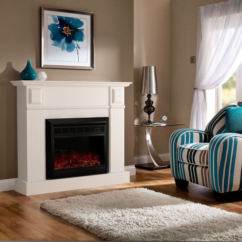 Bedroom electric fireplace - Buy Luxo Grace 1600w Electric Fireplace Heater White Online Australia