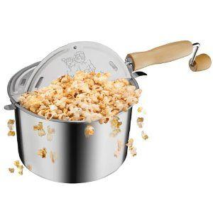Great Northern Popcorn Original Stainless Steel Stove Top Popcorn Popper
