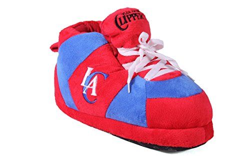 Happy Feet Mens and Womens NBA Los Angeles Clippers - Slippers - Large * Find out more about the great product at the image link.