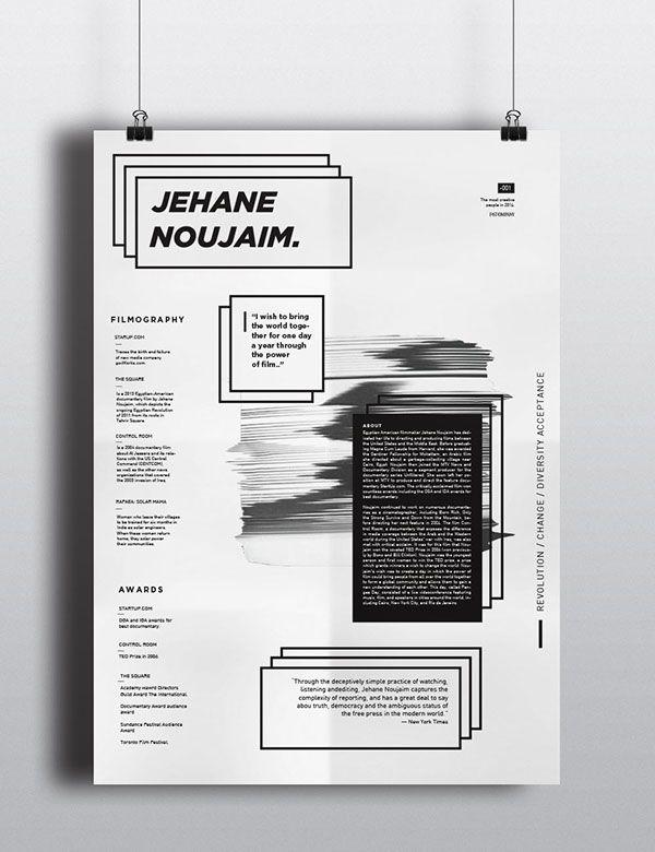 Informative Poster on Behance Poster Design Pinterest Behance