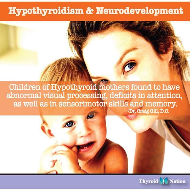 #Hypothyroid #Neurodevelopment #Pregnancy #Thyroid #Hormones #Children #ADHD #Visual #Issues #Health #Brain #UnitedWeHeal