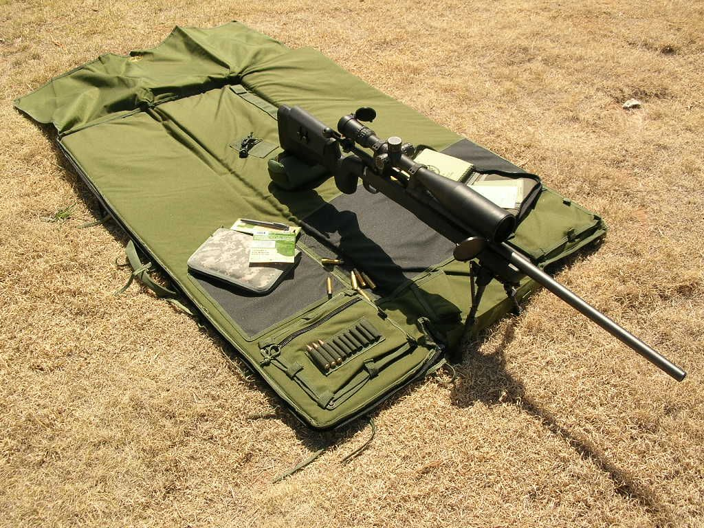 Deluxe Shooters Mat Od Green Sniper Gear