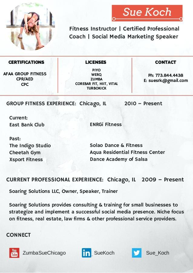 sample resume zumba instructor  instructor  resume  resumeexamples  sample  zumba
