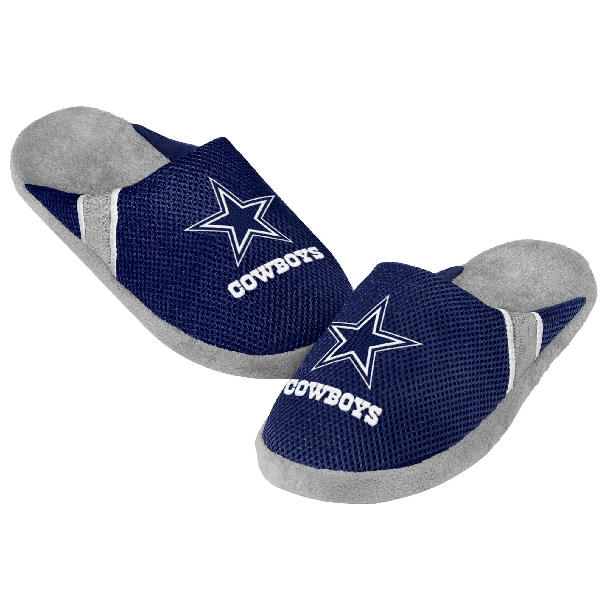 Dallas Cowboys Jersey Slippers - 12pc Case