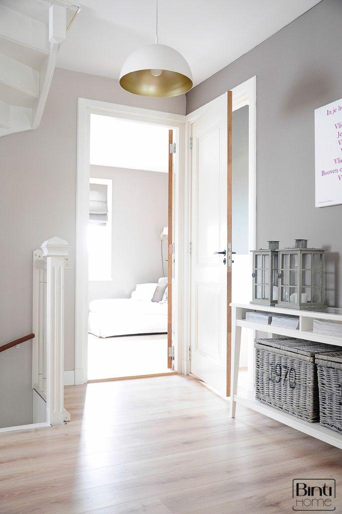 interieur hal naar slaapkamer interieur blog pinterest