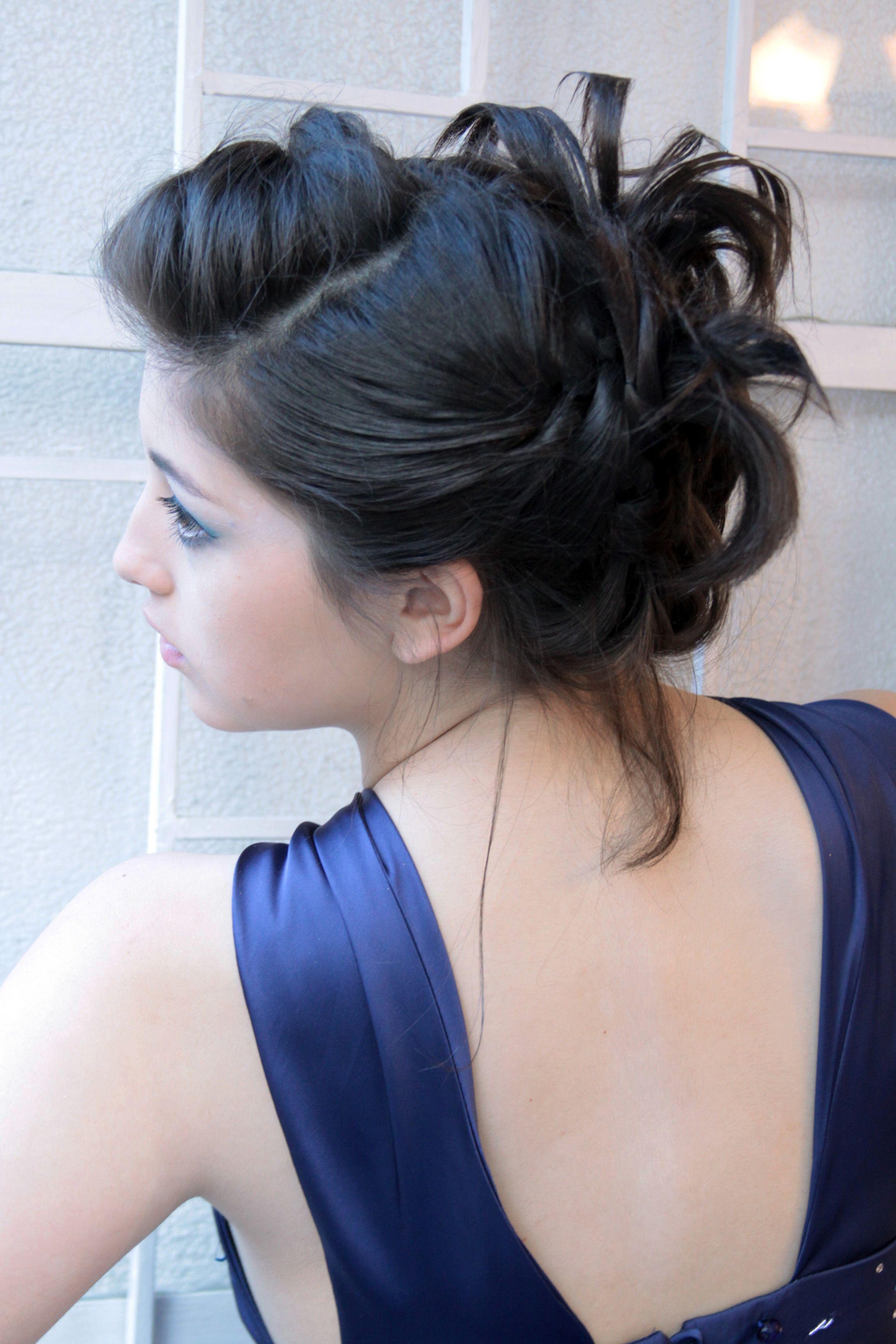 Peinado, Vestido Alta Celebración 15 Años