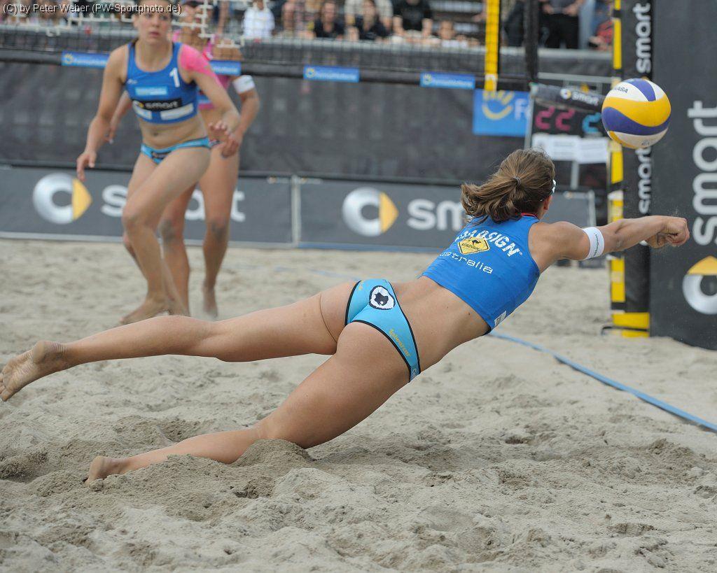 Slutty Volleyball Top chantal laboureur | wonder women of the beach | pinterest