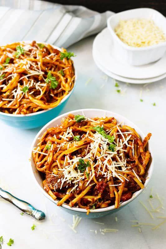 glutenfree instant pot spaghetti  recipe  gluten free