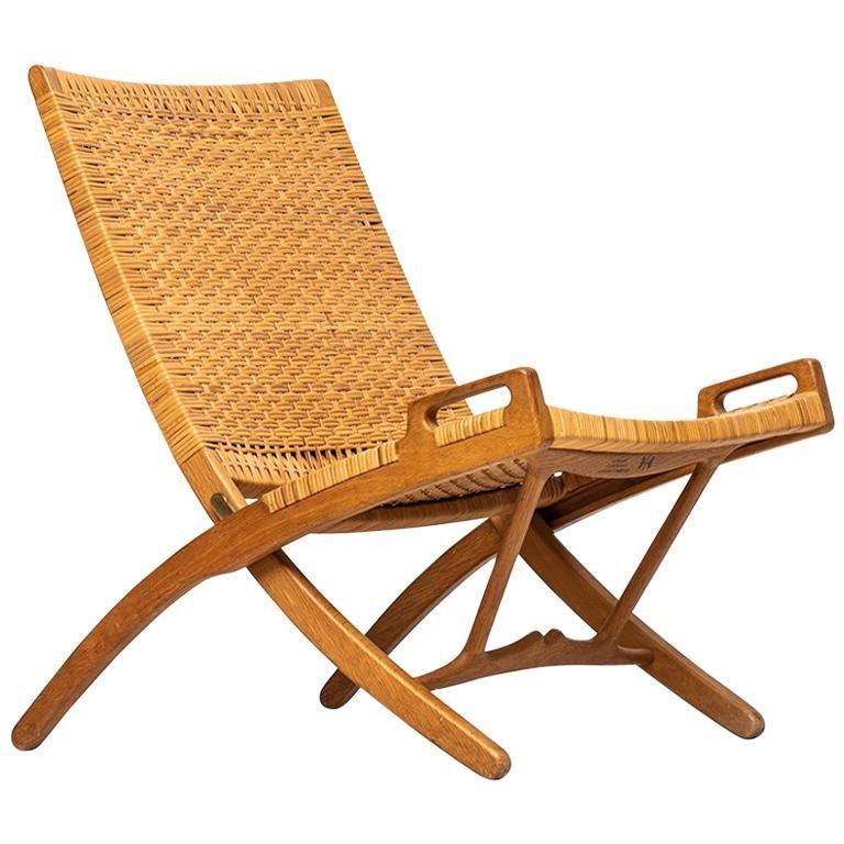 Hans Wegner Folding Chair Model Jh512 By Johannes Hansen In