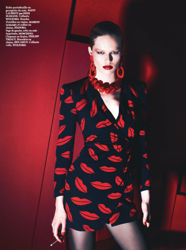 Amanda Wellsh by Mert Alas Marcus Piggott for Vogue Paris March 2014