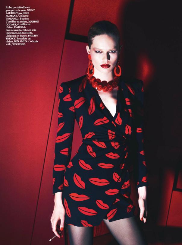 Amanda Wellsh by Mert Alas Marcus Piggott for Vogue Paris March 2014