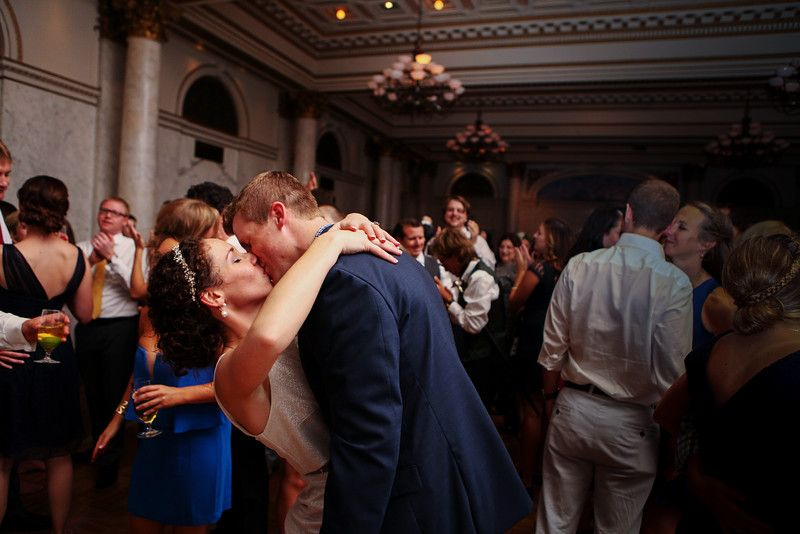 Last Song At Caroline And Justins Wedding The Grand Historic Venue In Baltimore