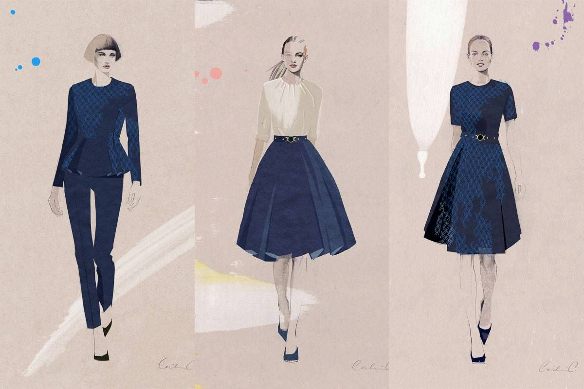 Estee Lauder Has The Best Dressed Retail Staff Nice Dresses