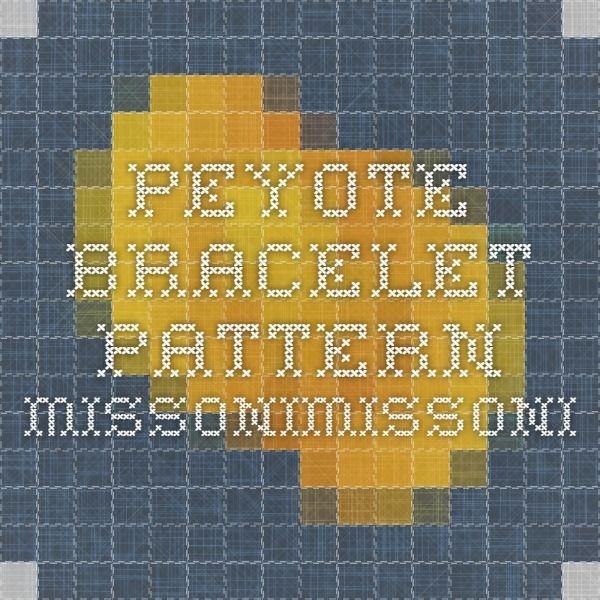 Peyote bracelet Pattern Missonimissoni