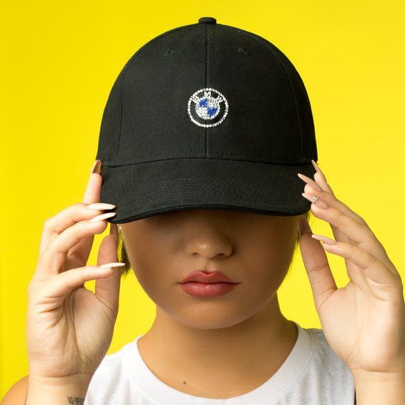 Crystal BMW Baseball Cap Women Ball Cap Baseball Mom 21st  375bf4cb04a5