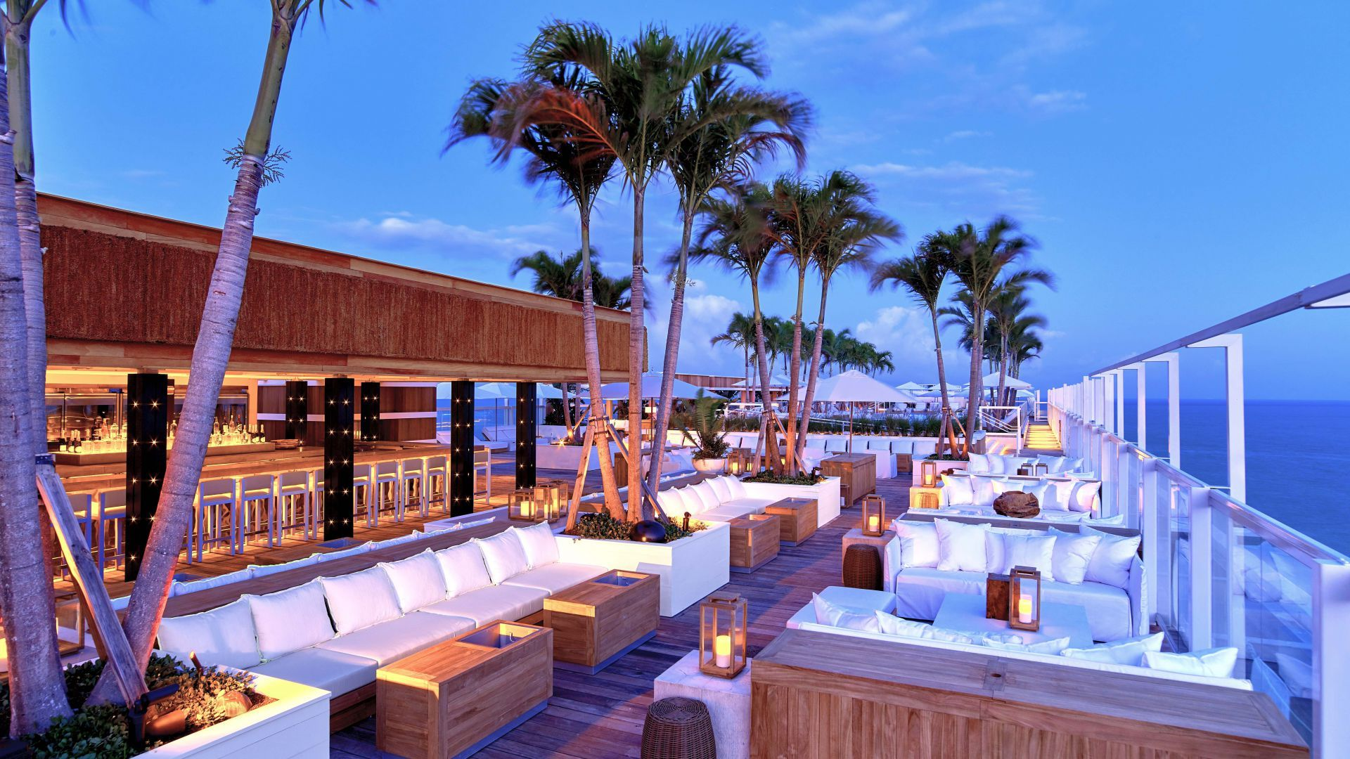 1 Hotel South Beach In Miami Best Rooftop Bars Grand Beach Hotel Rooftop Bar