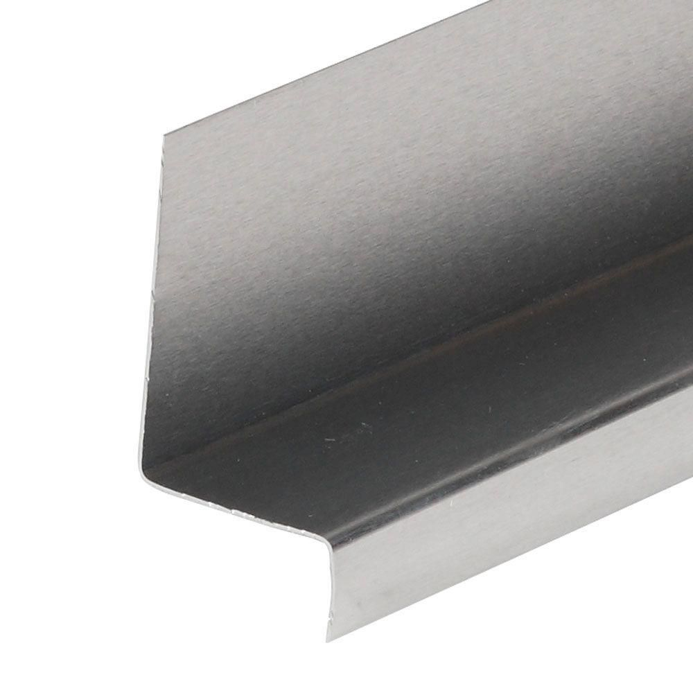 Amerimax Home Products 1 1 4 In X 1 3 4 In X 2 Ft 6 In Mill Aluminum Window Cap 5404900042 The Home Depot In 2020 Aluminium Windows Brick Molding Drip Edge