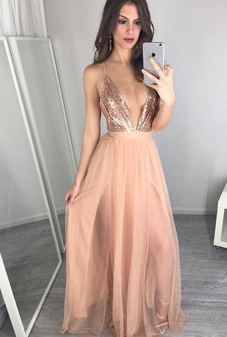 Image result for gold rose gold dress prom   debut ideas   Pinterest