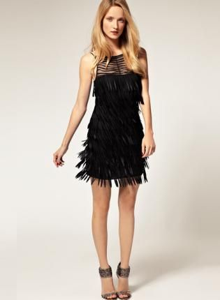 cc2bfb5b41e Birthday 1920 s Theme Bqueen Fringed Short Dress K072H