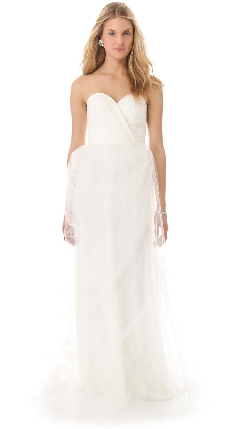 Stars plunge sweetheart gown unique bridal dresses pinterest