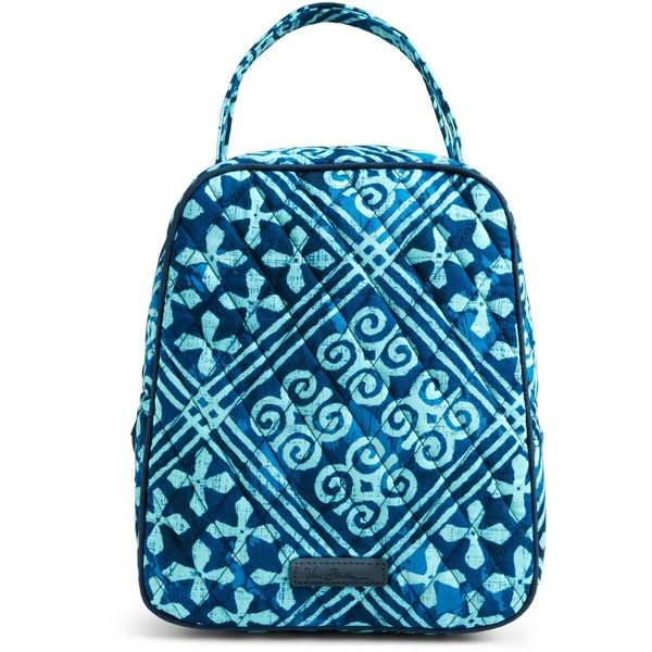 Vera Bradley Lunch Bunch Bag ( 34) ❤ liked on Polyvore featuring cuban tiles e47a440853015