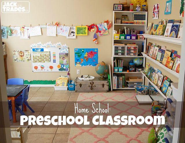 Home School: Preschool Classroom Set-up #preschoolclassroomsetup