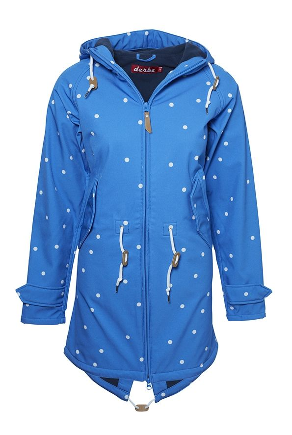 Derbe Island Friese Softshell Dots   Tops   Fashion outfits