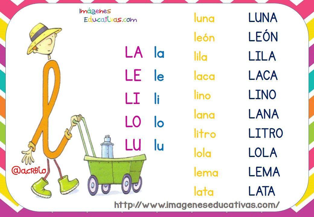 Fichas De Lectura Letrilandia Leer Y Escribir Lectura Y Escritura Lectura De Primer Grado