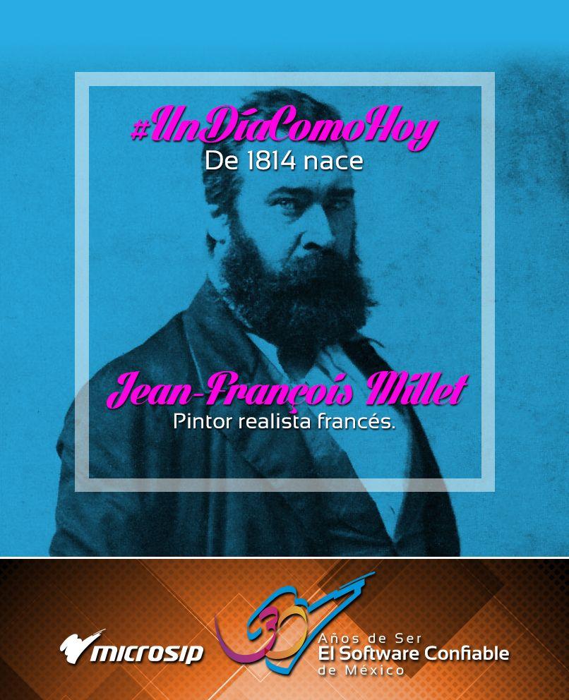 #UnDíaComoHoy 4 de octubre pero de 1814 nace Jean-François Millet, pintor realista francés.