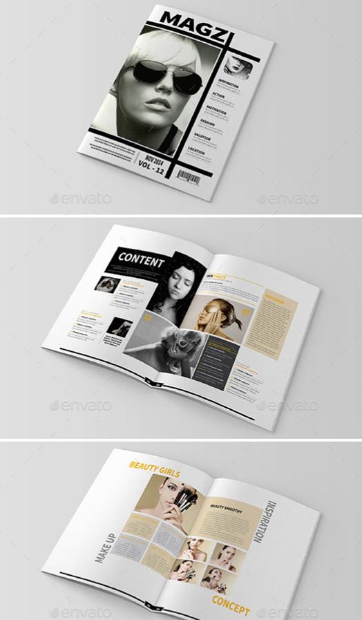 Multipurpose InDesign Magazine Template Bundle | Memorable magazines ...