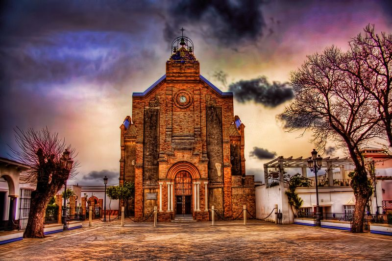 Benalup Casas Viejas Church In The Square Old Churches Church Spain