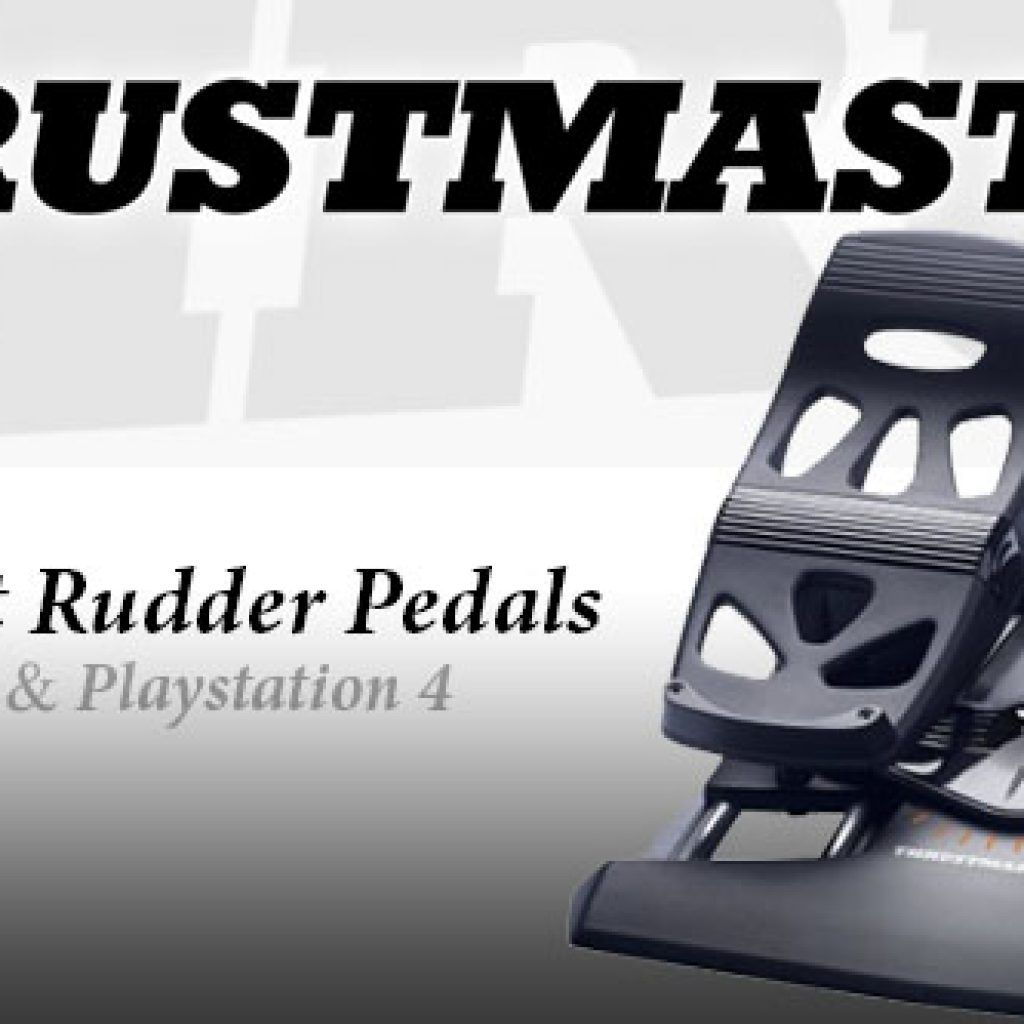 Thrustmaster TFRP Flight Rudder Pedals Review | Gaming | Games
