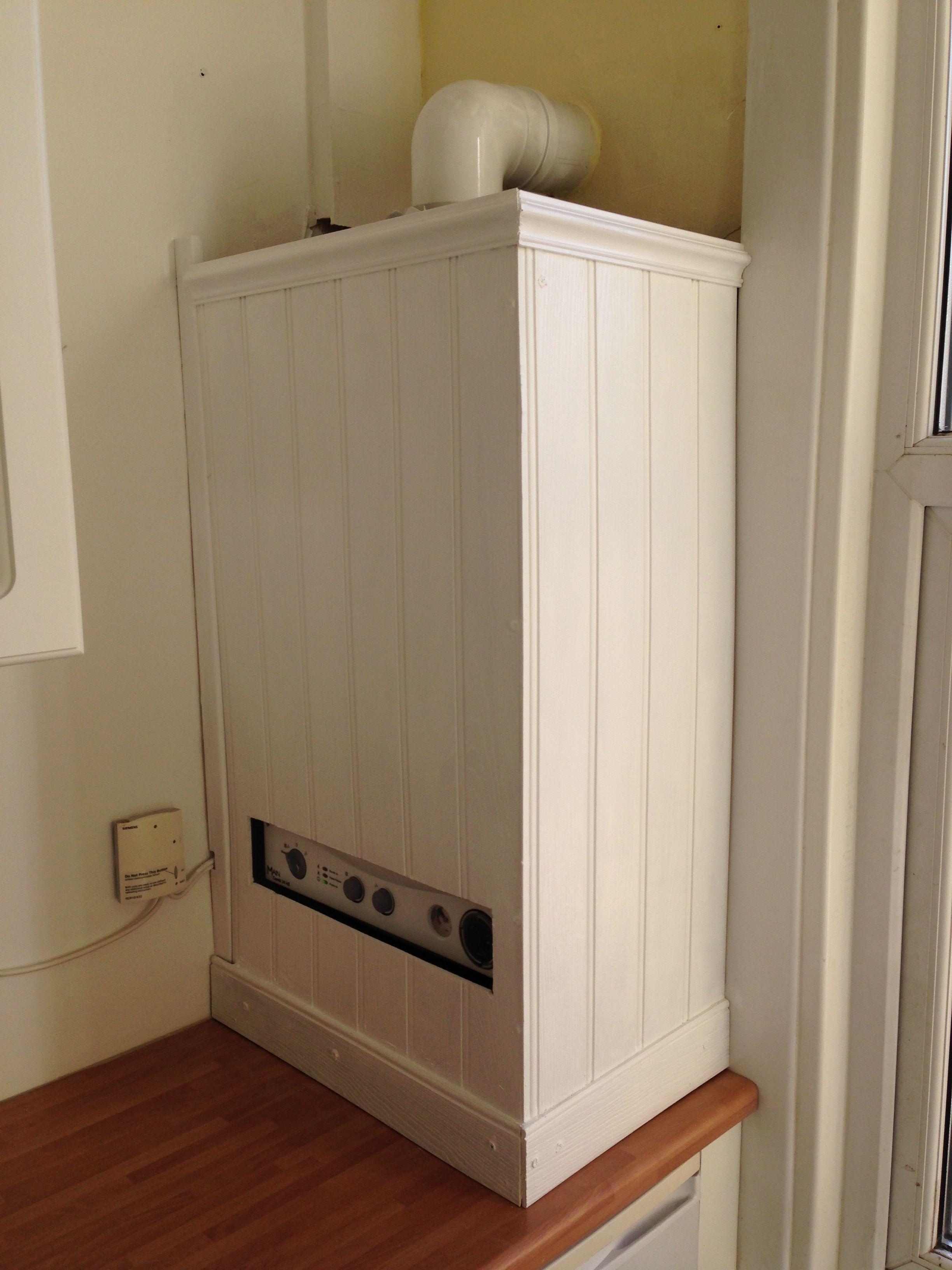 Bespoke boiler cover | Basement Ideas | Pinterest | Küche