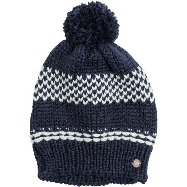 7e2d6408c98 Roxy Iceberg Knit Beanie ( 29) ❤ liked on Polyvore featuring accessories