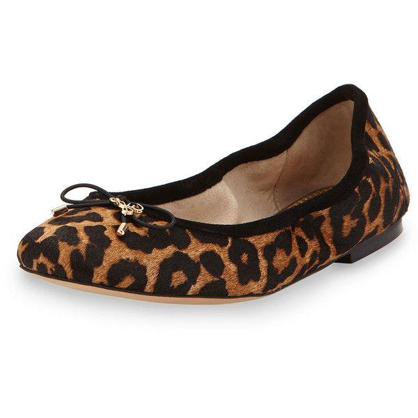Sam Edelman Felicia Leopard Print Ballet Flats fSYi6SK6