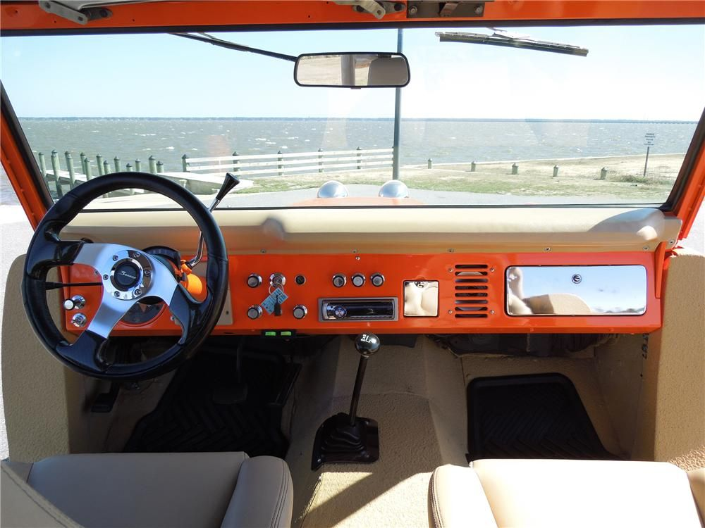 1970 Ford Bronco Custom Suv Barrett Jackson Auction Company