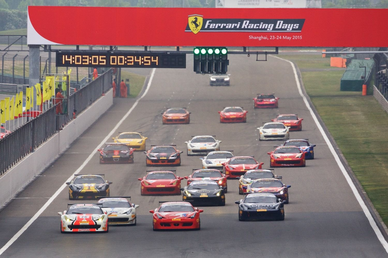 Ferrari Challenge Dialihkan Dari Sentul Ke Shanghai Ferrari Sirkuit