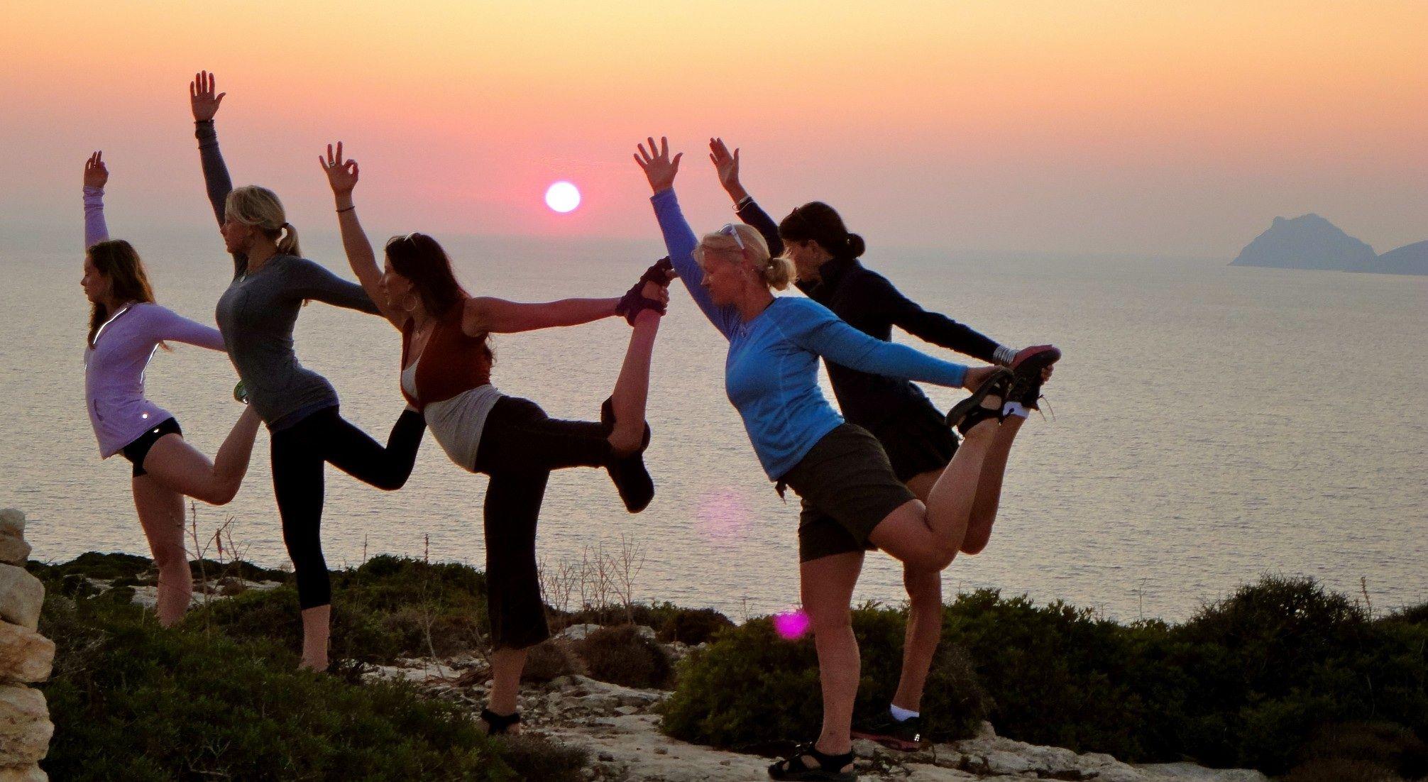 Crete Yoga, Kayaking & Hiking Retreat Beach retreat