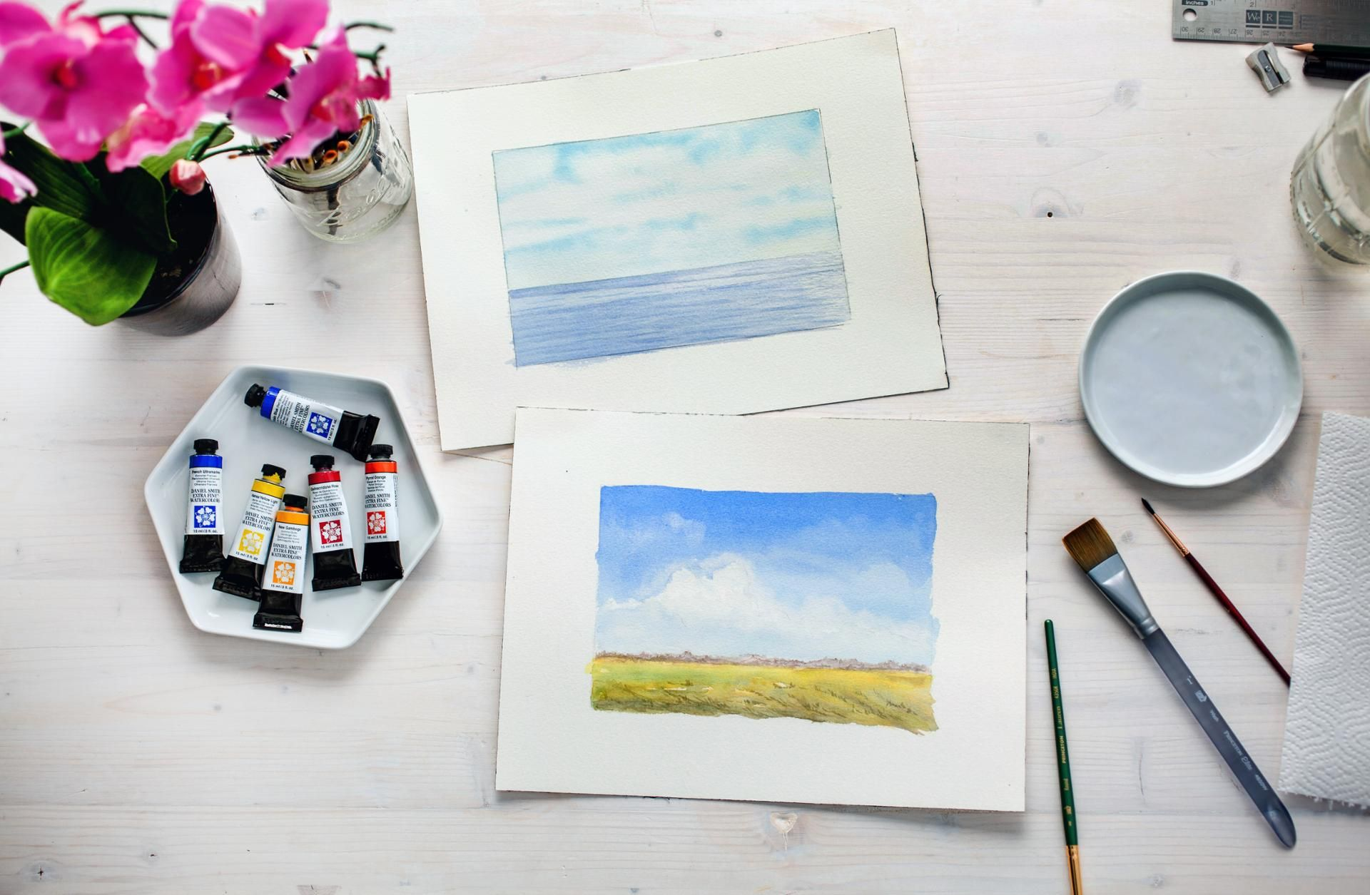 Take The Leap 5 Tips For Trying A New Craft Watercolor