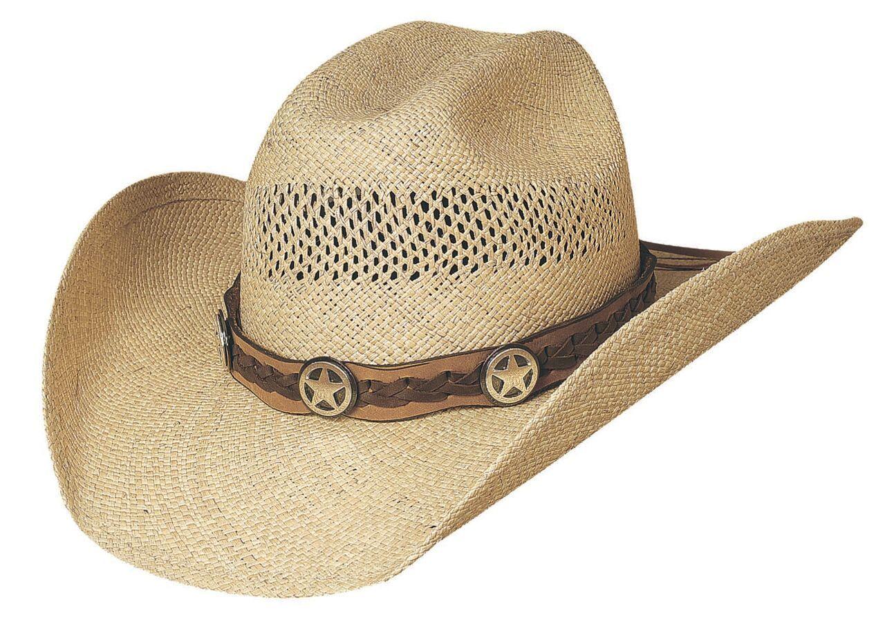 f716124c215 Lone Gunman Straw Cowboy Hat