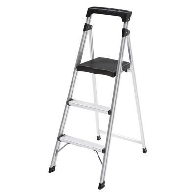 Easyreach By Gorilla Ladders 3 Step Ultralight Aluminum Step Stool As 3c Home Depot Canada Step Stool Step Lighting Paintable Wallpaper