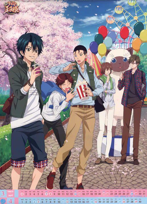 Prince Of Tennis Eiji Kikumaru Shuichiro Oishi Kunimitsu Tezuka Ryoma Echizen Shusuke Fuji El Principe Del Tenis Personajes De Anime Anime Manga