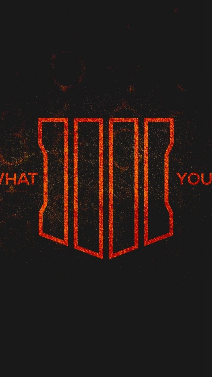 Call Of Duty Black Ops 4 Poster 2018 Minimal 720x1280 Wallpaper